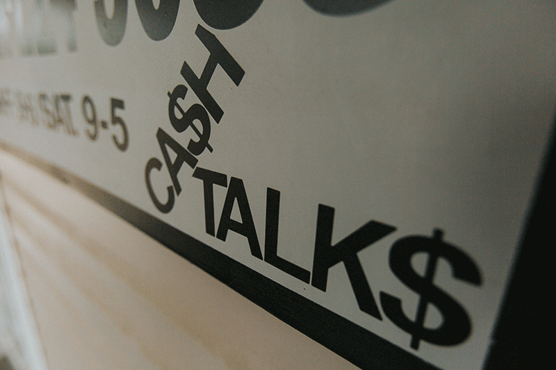Cash talks and we will give you the best cash money deal in St. Louis, MO