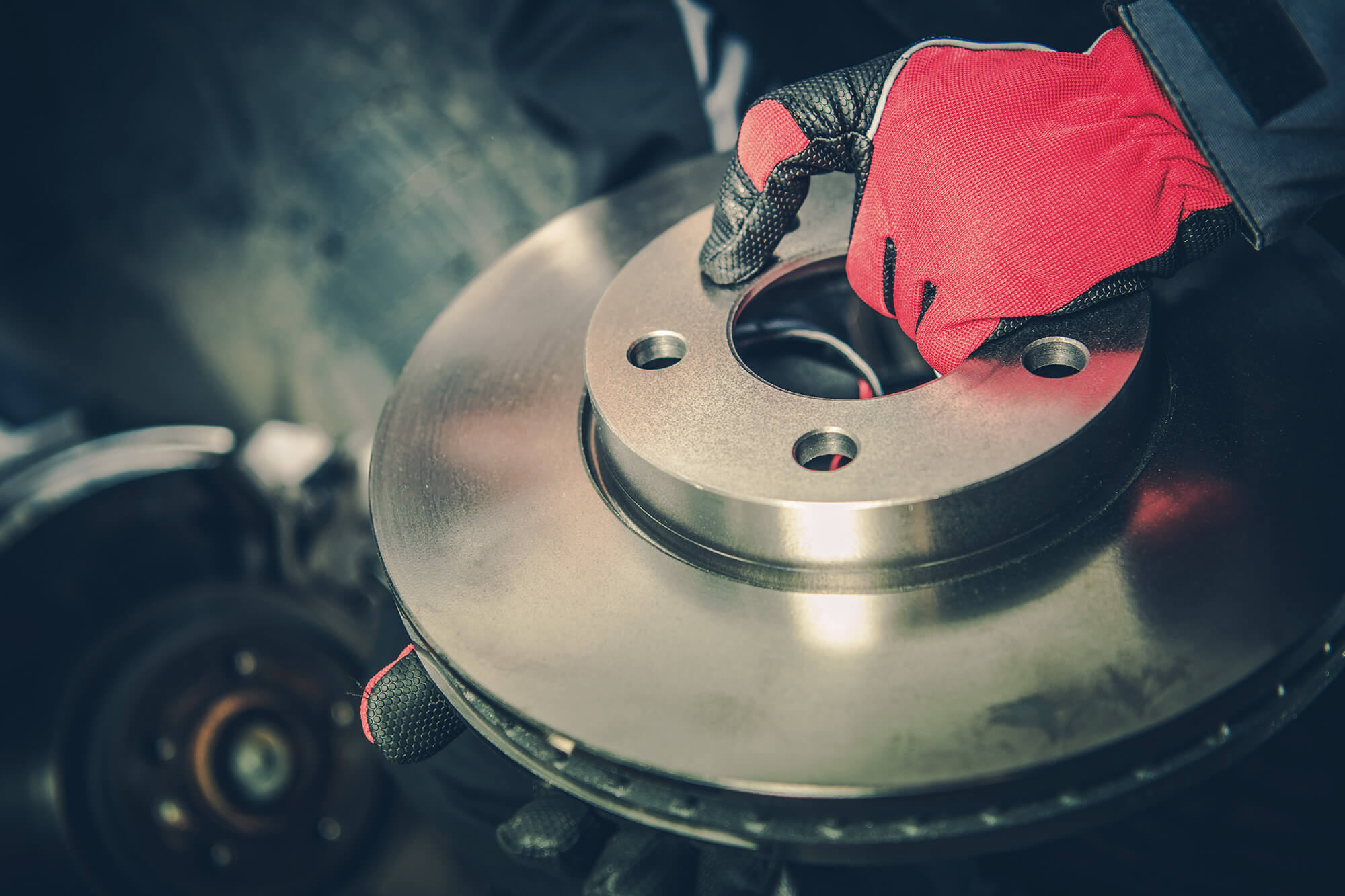 New brakes like these should be purchased if you have a burning smell.