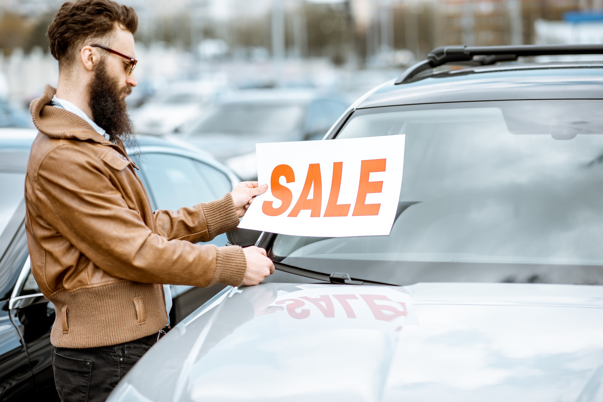 How To Write A Good Online Ad To Sell A Junk Car. Add For Sale Sign.