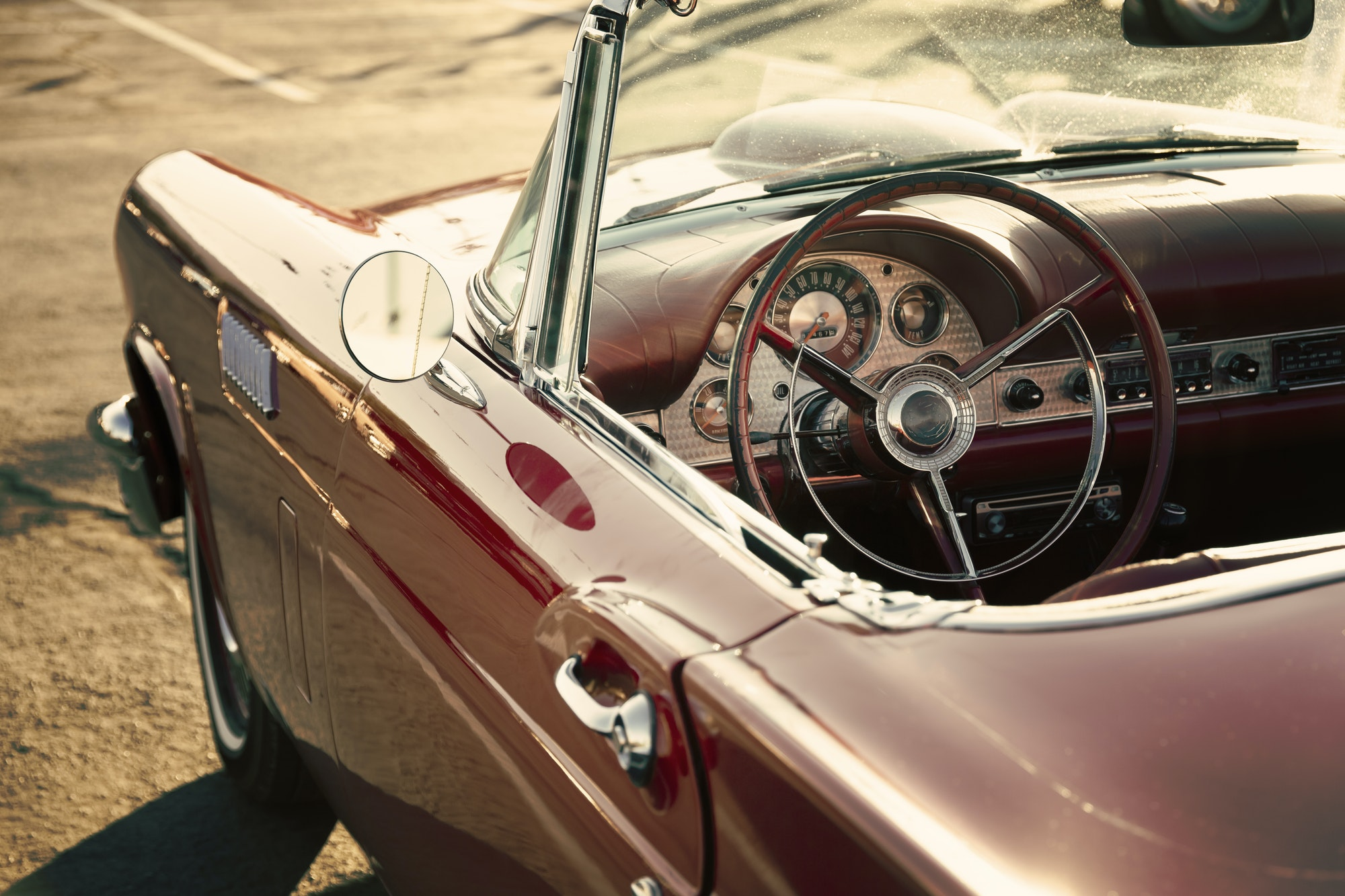 Add Charm To Your Vintage Car With These Modern Additions.
