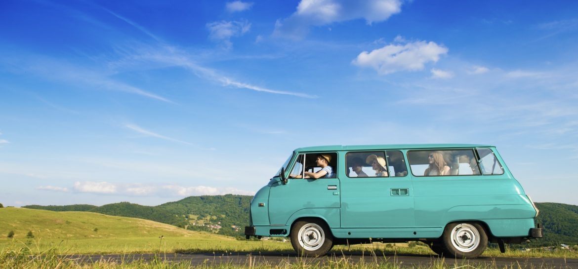 How To Prepare Your Old Car For The Summer? Van on road.